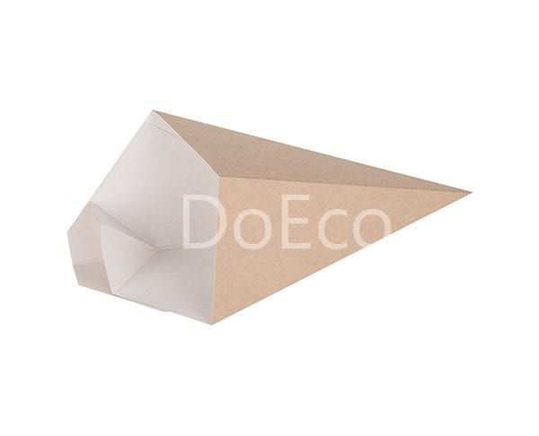 eco cone doeco 1 600x486 - Chip cone with dipping pocket