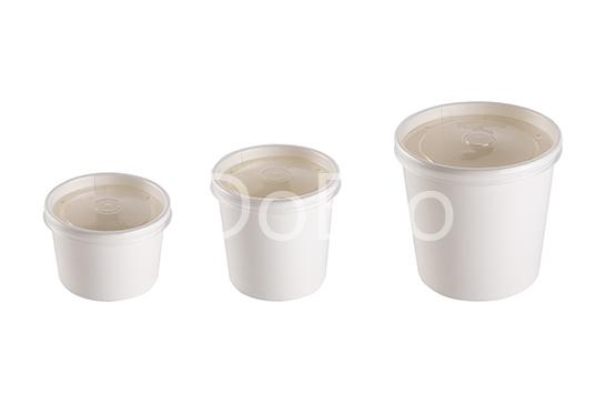 eco soup econom doeco 2 - Soup container with transparent lid