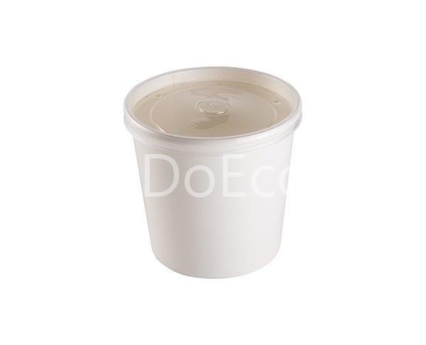 eco soup econom doeco 3 600x486 - Soup container with transparent lid