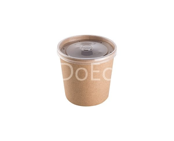 eco soup econom doeco 7 600x486 - Soup container with transparent lid