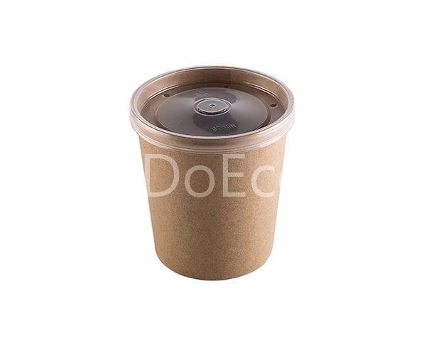 eco soup econom doeco 8 600x486 - Soup container with transparent lid