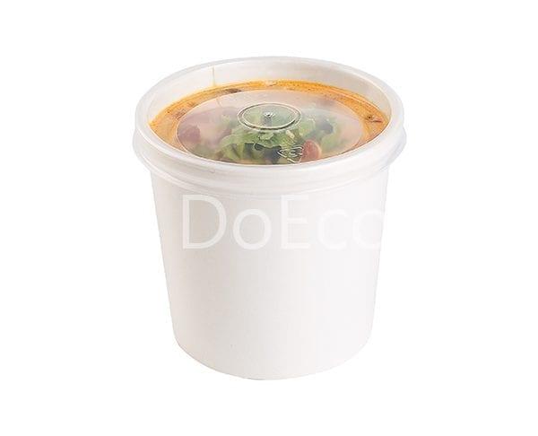 eco soup econom doeco 600x486 - Soup container with transparent lid