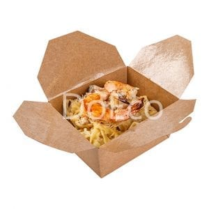 Fold box pure kraft doeco 300x300 - Fold Box «Pure Kraft» (Multipurpose container)