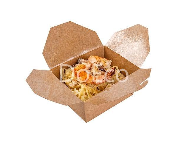 Fold box pure kraft doeco 600x486 - Fold Box «Pure Kraft» (Multipurpose container)