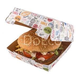 eco burger enjoy doeco 300x300 - Packaging for burgers «Enjoy»