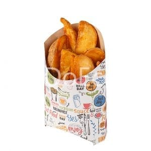 eco fry enjoy doeco 300x300 - Packaging for French fries «Enjoy»
