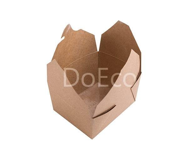 fold box pure kraft doeco 1 600x486 - Fold Box «Pure Kraft» (Multipurpose container)