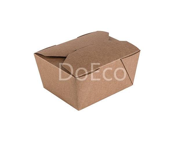fold box pure kraft doeco 2 600x486 - Fold Box «Pure Kraft» (Multipurpose container)