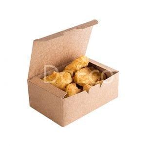 eco fast food box pure kraft doeco 300x300 - Nugget Box «Pure Kraft»