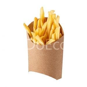 eco fry pure kraft doeco 300x300 - Packaging for French fries «Pure Kraft»