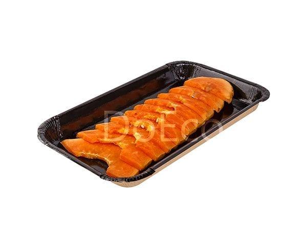 eco platter black edition doeco 600x486 - Universal food tray «Black Edition»