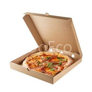 "eco pizza pure kraft doeco 300x300 - Pizza Box ""Pure Kraft"""