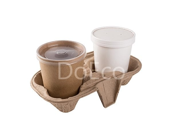 eco cupholders econom doeco 600x486 - Soup container carrier